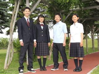 北海道札幌東陵高校制服